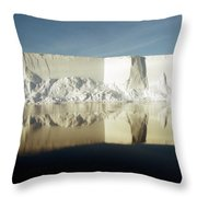 Iceberg Ross Sea Antarctica Throw Pillow