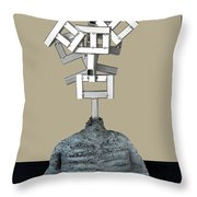 Identity Crisis 03 Throw Pillow