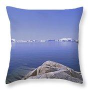 Ilulissat Icefjord Greenland Throw Pillow