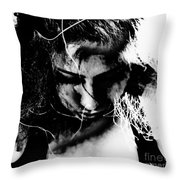 In The Wire Throw Pillow