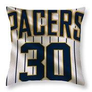 Indiana Pacers Uniform Throw Pillow