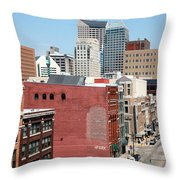 Indianapolis Indiana Throw Pillow