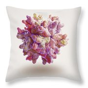 Infectious Bursal Disease Virus Throw Pillow