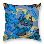 Interlock 3 Throw Pillow by Anthony Morris