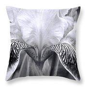 Iris 11 Throw Pillow