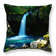 Ironhead Falls Throw Pillow