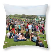 Jack In The Green Festival 2014 Throw Pillow