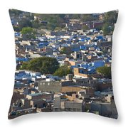 Jodphur, India Throw Pillow