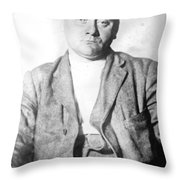 John Flammang Schrank (1876-1943) Throw Pillow