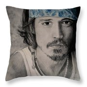 Depp Throw Pillow