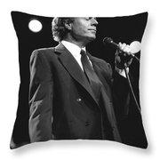 Julio Iglesias Throw Pillow