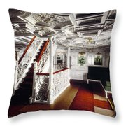 Kaiserin Maria Theresia Throw Pillow