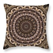 Kaleidoscope 49 Throw Pillow