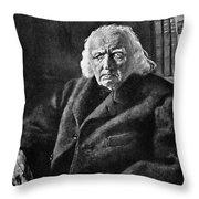 Karl Theodor Weierstrass (1815-1897) Throw Pillow