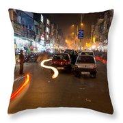 Katra Market Throw Pillow