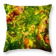 Kelp Forest Throw Pillow