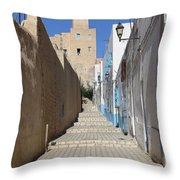 Khalaf Al-fata Lighthouse Throw Pillow