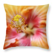 Ko Aloha Makamae E Ipo Aloalo Exotic Tropical Hibiscus Maui Hawaii Throw Pillow
