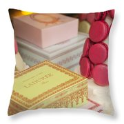 Laduree Sweets Throw Pillow