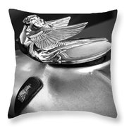 Lady Of The Hood Throw Pillow