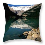 Lake Louise Iv Throw Pillow