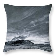 Land Shapes 19 Throw Pillow