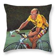 Laurent Fignon  Throw Pillow