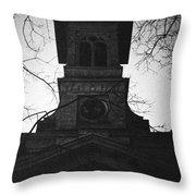 Lausanne Noir Throw Pillow