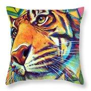 Le Tigre Throw Pillow