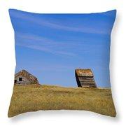 Leaning Into The Years Throw Pillow by Jeff Swan