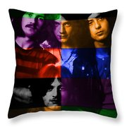 Led Zeppelin Throw Pillow by Marvin Blaine