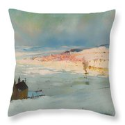 Levis From Quebec Throw Pillow