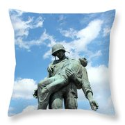 Liberation Monument Throw Pillow