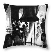 Liberty Bell, 1776 Throw Pillow