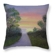 Light At The Other End Throw Pillow