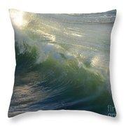 Linda Mar Beach - Northern California Throw Pillow