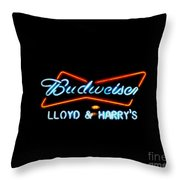 Lloyd And Harry's Throw Pillow