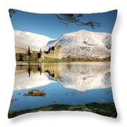 Loch Awe Throw Pillow