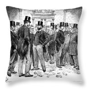 London Stock Exchange Throw Pillow