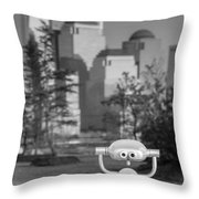 Looking At Freedom Throw Pillow