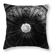 Looking Up Siena Cathedral 2 Throw Pillow