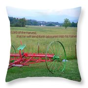 Lord Of The Harvest Throw Pillow