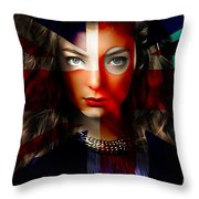 Lorde Throw Pillow