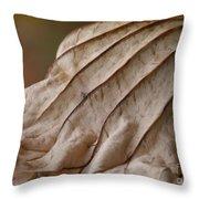 Lotus Leaf Throw Pillow