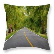 Lovers Lane Throw Pillow