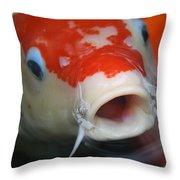 Lucky Koi 3 Throw Pillow