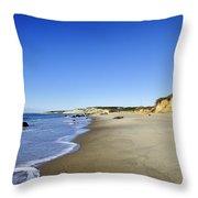 Lucy Vincent Beach Throw Pillow