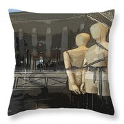 Madeline's Sentinels Throw Pillow