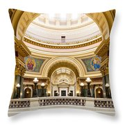 Madison Capitol Throw Pillow