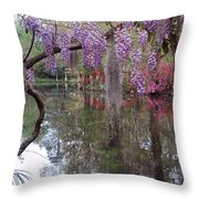 Magnolia Plantation Gardens Series II Throw Pillow